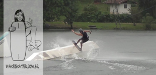 Rainy Session no Naga com Peu e Patas